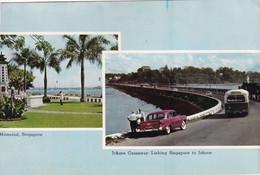 Mémorial Singapore, Johore Causeway Linking Sigapore To Johore - Singapore