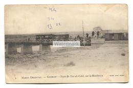 Guercif, Maroc Oriental - Pont De Dar-el-Caid, Sur La Moulouya, Train - C1916 Postcard - Andere