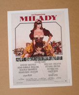 Affiche - Affichette - Poster On L'appelait Milady Avec Michael York, Oliver Reed, Raquel Welch De Richard Lester - Posters