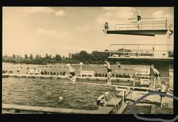 DDR AK 1964 Salzwedel, Volksbadeanstalt Schwimmbad - Salzwedel