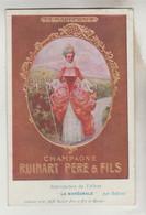 CPA PUBLICITE BOISSEN ALCOOL - CHAMPAGNE RUINART PERE & FILS, Groupe L.V.M.H - Publicidad