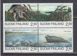 Finland 1995 - Natural Reserve, Mi-Nr. 1291/94, MNH** - Nuevos