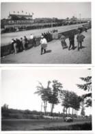 Voiture De Course Automobile 1938 Photo 6x9cm X2 - 24 Heures Auto Le Mans ? Montfleuri ? Yacco - Cars