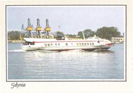 Poland:Gdynia, Hydrofoil Ship - Altri