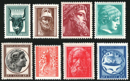 Greece 1955 Ancient Art Part II Complete Set MNH - Nuovi