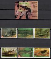 Cuba 2020 / Crocodiles Reptiles MNH Cocodrilos Reptils Krokodile Reptilien / Cu18424  C2-3 - Other