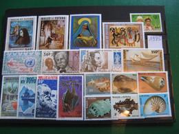 WALLIS ANNEE COMPLETE 1985 NEUVE ** LUXE COTE YVERT 74,05 EUROS - Unused Stamps