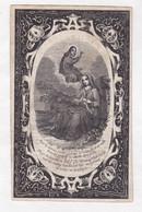 =  C.DE MEYERE °RUISELEDE 1781 +TIELT 1845 & L.HOUTTEMAN °1774 +1855 Koster-Onderwijzer (L.HOUTTEMAN) - Devotion Images