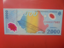 ROUMANIE 2000 LEI Peu Circuler/Neuf (B.23) - Rumania