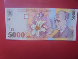 ROUMANIE 5000 LEI Peu Circuler/Neuf (B.23) - Rumania