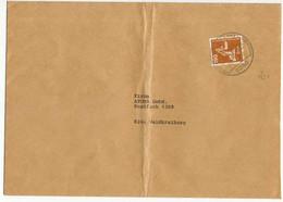 BRD DS INDUSTRIE U. TECHNIK Nr 1136 BRIEF EF X5C802A - Brieven En Documenten