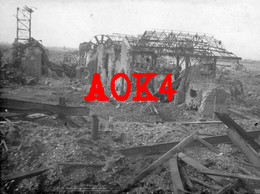 62 AUCHY LES MINES Fosse 8 Bethune Occupation Allemande Ruines Nordfrankreich BIR 18 La Bassee Hulluch Haisnes - Altri Comuni