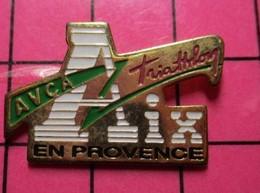 513d Pin's Pins / Beau Et Rare / THEME : SPORTS / TRIATHLON AIX EN PROVENCE AVCA - Autres