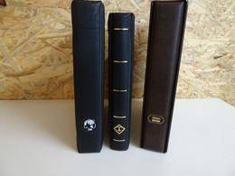 3 Alben (WWF/Leuchtturm/Philswiss) Mit Hüllen (17551) - Binders Only