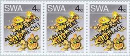 SWA 0397-414   ** - Cote : 9,75 € - Fleurs Surchargées Suffrage Universel - Algemene Stemreg - Allgemeines Wahi Recht - Nuovi