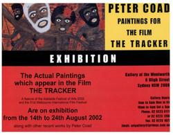 (RR 41) (Avant Card) Australia) Film The Tracker (paintings) - Otros