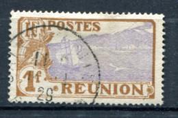 REUN Yv. N° 115  (o)  1f  Volcan Cote  0,8  Euro BE - Gebraucht