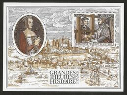 2017 - Bloc Feuillet F 5161 GRANDES HEURES DE L'HISTOIRE NEUF** LUXE MNH - Mint/Hinged