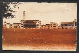 SINGAPORE CRICKET CLUB AND GROUND WITH JAPAN STAMP 1921 YOKOHAMA N° B748 - Singapore