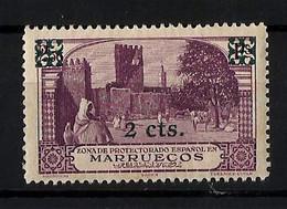 MARRUECOS **166 Nuevo Sin Charnela. Cat.15,50 € - Spanish Morocco