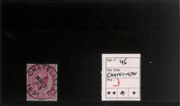 NB - [818550]TB//O/Used-Belgique 1884 - N° 46, Chatelineau, Rois - 1884-1891 Leopold II.