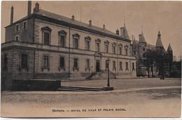 $ PUB LES CHAPEAUX BRUN $ 58 - NEVERS Hôtel De Ville Et Palais Ducal - Nevers