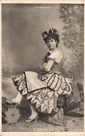 J. GRANIER * Artiste * Cabaret Actrice Théâtre Music Hall * Célébrité - Artistas