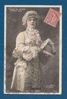 Femme Actrice Melle DE LEKA Théatre Des Variétés Paris 1905  - Très Très Bon état -  +900 - Teatro