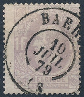 [O B/TB] N° 36, Obl Concours DC 'Barry', Coba ++12 € - 1869-1883 Leopold II