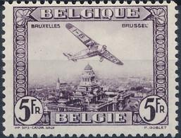 [** SUP] PA5, 5F Violet - Fraîcheur Postale - Cote: 70€ - Airmail