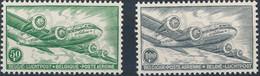 [** SUP] PA10A/11A, La Série Complète - Papier Blanc - Cote: 400€ - Airmail