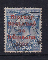 Ireland: 1922   KGV OVPT    SG4    2½d      Used - Gebraucht