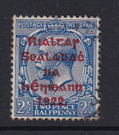 Ireland: 1922   KGV OVPT    SG35    2½d       Used - Gebruikt