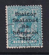 Ireland: 1922   KGV OVPT    SG42    10d      Used - Gebruikt