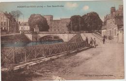 Nogent Sur Seine  (10 - Aube) Pont Saint Nicolas - Nogent-sur-Seine