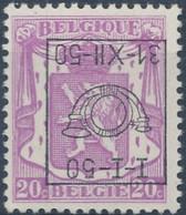 [** SUP] PO601-cu, 20c Lilas - Surcharge Renversée - Cote: 85€ - Unclassified