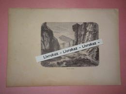Gravure 1893, Fort De Covelo, Gorges De La Brenta, Bonaparte, Très Bon état - Other