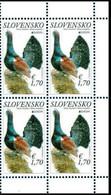 Slovakia 2021 Block 4  V MNH Europa 2021 - The Western Capercaillie Tétras Birds Bird Oiseaux Oiseau - Grey Partridge