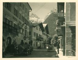 Mini AK Um 1950 Lofer Österreich, Hotel Bräu, Tabak Laden, Herrliche Oldtimer - Other