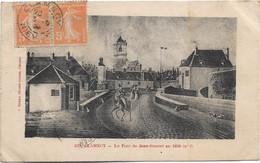 58 - CLAMECY Le Pont De Jean Rouvet En 1830 écrite Timbrée - Clamecy