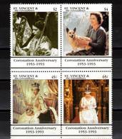 SAINT VINCENT Et Grenadines  Timbres Neufs ** De 1993  ( Ref 1101 B )  Reine Elisabeth II - St.Vincent Y Las Granadinas