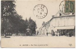 58 NEVERS  Rue Thiers Et Entrée Du Parc - Nevers