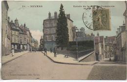 58 NEVERS Entrée De La Rue Du Commerce Et Du Rivage - Nevers