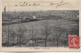 58 - IMPHY Vue Générale écrite Timbrée - Cosne Cours Sur Loire
