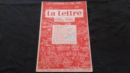 Partition Chanson La Lettre / Noel Noel - Spartiti