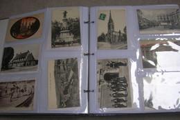 Lot No7 : Dans Un Album + De 350 Cartes Postales Petit Format 9x14 France Et Monde à Trier En ACHAT IMMEDIAT - 100 - 499 Postkaarten