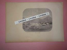 Gravure 1893, Riva, Lac De Garde, Lago Di Garda, Lago Di Benaco, Trentin Haut-Adige, Pêcheurs, Barque, Très Bon état - Other
