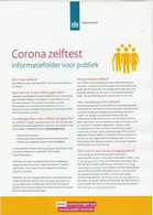 Covid-19 / Corona Zelftest Rijksoverheid (NL) - Sonstige