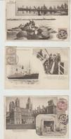 Canada. Côtes D'Armor Série Botrel Au Canada  9 Cartes 1904  Karten Bost - Autres