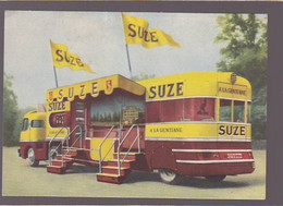 Boisson La Suze à La Gentiane / Camion Publicitaire Circa 1970 / Dim 10 X 14 Cm - Publicidad